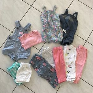 Carter's 6-9 Months Clothing Bundle