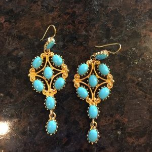 Kenneth Jay Lane Light Blue Earrings