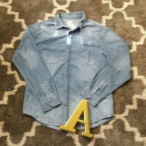 Other - CAPE JUBY Mens Denim Shirt