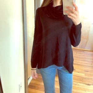 ALICE & OLIVIA black turtle neck cashmere wool S