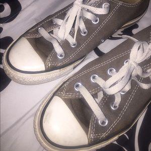 Gray Converse!