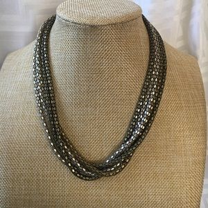 Jewelry - Lovely Adjustable Multi-Strand Metal Necklace