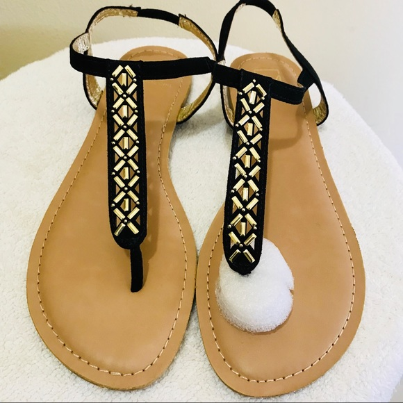 f1039600521 Material Girl Skyler Open Toe Casual Sandals