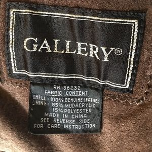 Gallery Jackets & Coats - Gorgeous suede coat.