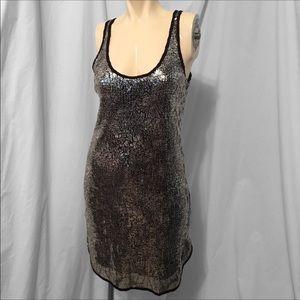 Eight Sixty Sleeveless Sequin Dress