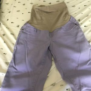 Motherhood Maternity Purple Jeans