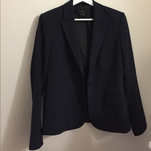 2ff7b93352 Theory Jackets & Coats | Gabe Blazer Navy Blue | Poshmark