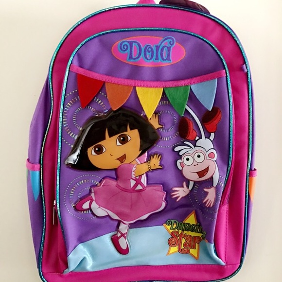 Nickelodeon Accessories Dora Backpack Poshmark