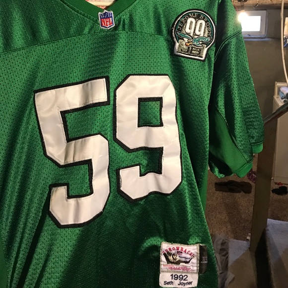 the latest 4efc5 88ff0 Philadelphia Eagles Seth Joyner Throwback Jersey.