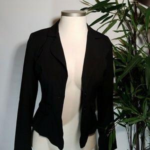 Mymichelle Black Short Blazer