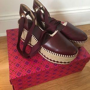 b3124adfd Tory Burch Shoes - Tory Burch Dandy Espadrille Wedge