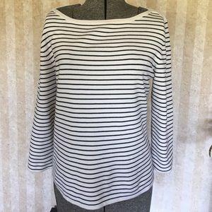 Chico's striped sweater.