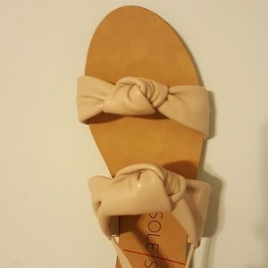 Sole Society knotted sandals