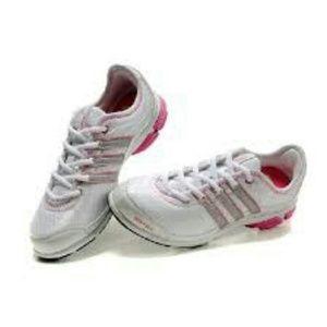 Le adidas donne bianche con cuscino rosa poshmark 3d