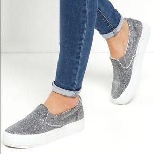 Brand new Asos slip on platform sneakers