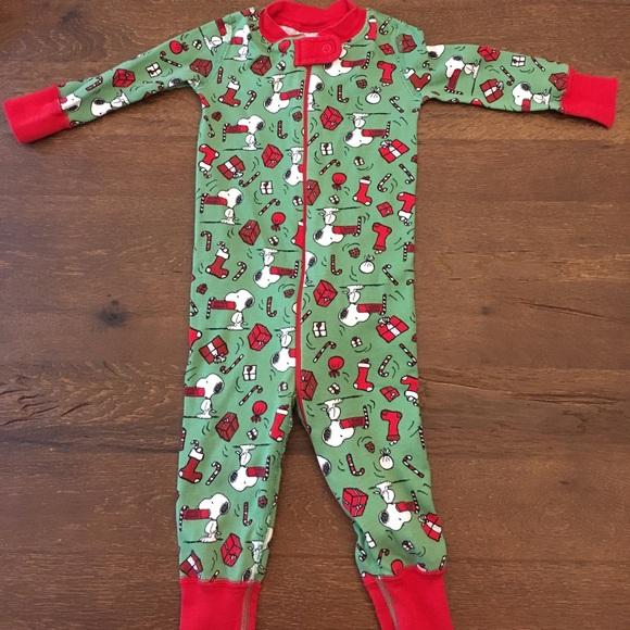 hanna andersson pajamas snoopy christmas 70 cm - Snoopy Christmas Pajamas