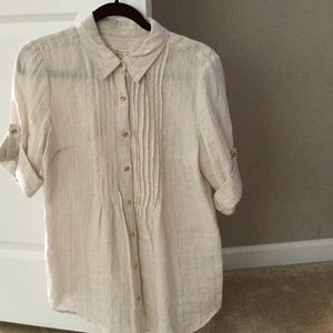 Women's Charter Club Tops | Button Down Shirts - on Poshmark