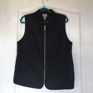 Other - Chico black vest with collar