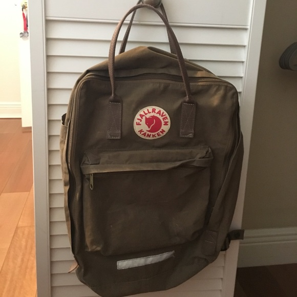 ff88bfc98b51 Fjallraven Handbags - Fjallraven Kanken Big Sand DEPOP ONLY