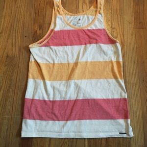 On the Byas multicolor tank size S