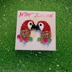 🕊 🌷Authentic BETSEY JOHNSON EARRINGS 🎀 💎