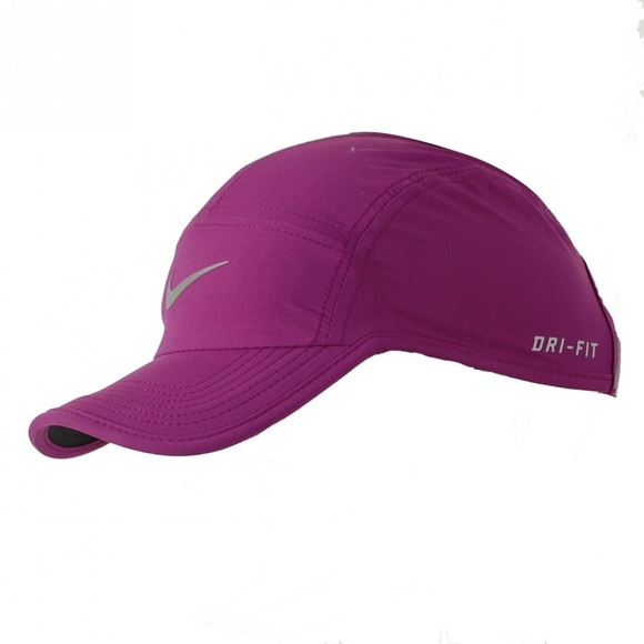 best sneakers ab40d 8084d Nike Women s Feather Light Adjustable Hat, Purple.  M 59cfefdf41b4e06cad05e284