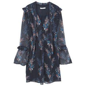 """MANGO Floral Dress """"Kea"""" w/Bell Sleeve✨"""
