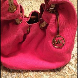 Michael Kors canvas bag