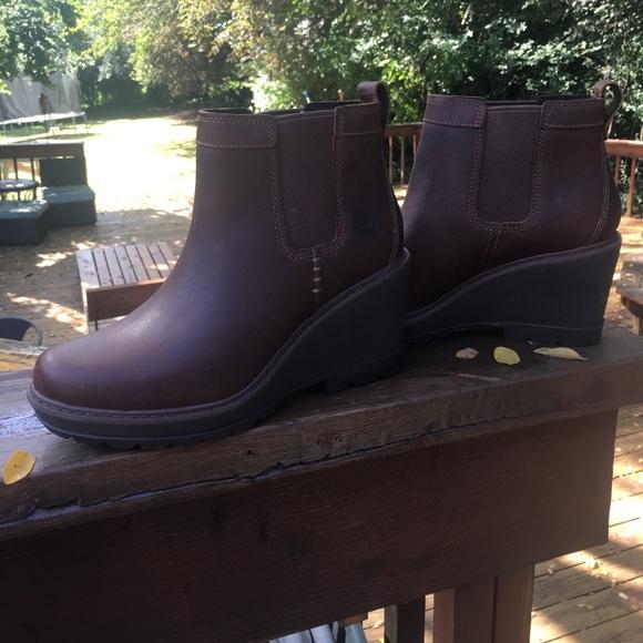 07108deb520 Timberland Kellis Wedge Chelsea Boots. M 59cff632a88e7d28f3060713