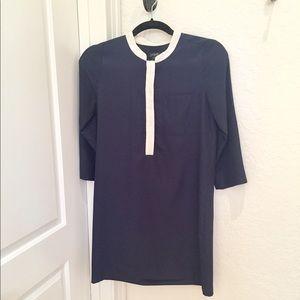 FINAL PRICE - J. Crew navy tunic shirt dress