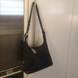 Coach legacy black Leather hobo bag