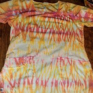 Other - Custom tie dye scrubs