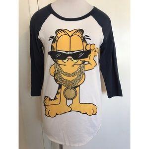 Forever 21 Garfield Shirt Small