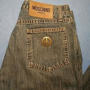 """NWOT MOSCHINO """"DONNA"""" STRAIGHT LEG JEANS-SIZE 29"""