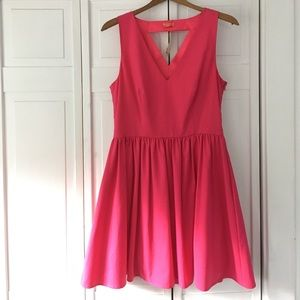 Pink Mini Dress size US 12 Wonderland by Oasis