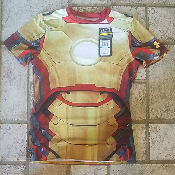 138d26aa Under Armour Shirts & Tops   Iron Man Shirt   Poshmark