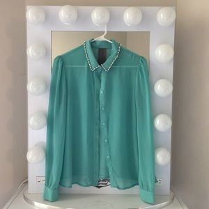 Moon Collection Chiffon Shirt