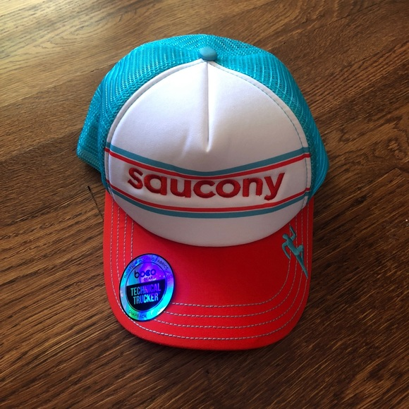 Saucony trucker hat one size fits all. M 59d00c3aa88e7d87530663a9 418f4b60fa9