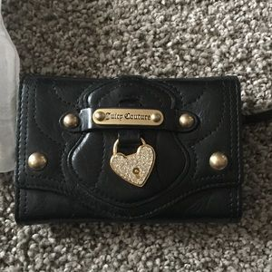 NWOT juicy couture leather wallet
