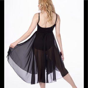 3a7e0e780 Capezio Dresses | Camisole Empire Ballet Dress Black S Nwt | Poshmark