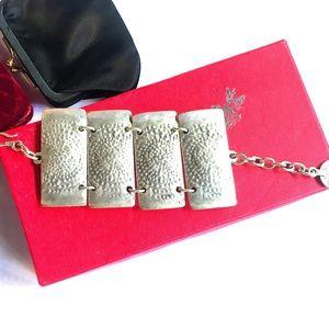 Jewelry - 🔥HAMMERED SUNBURST POLYPTYCH BRACELET🔥NWT🔥