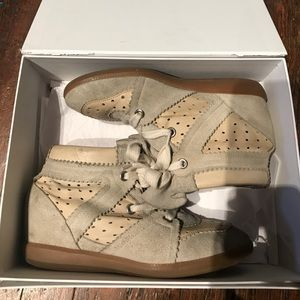 Isabel Marant Bobby Sneakers - Leather and Suede