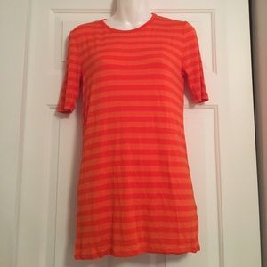Michael kors stripe tunic