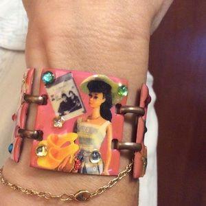 Jewelry - Barbie Bracelet - Enamel Over Copper  🎀🌸