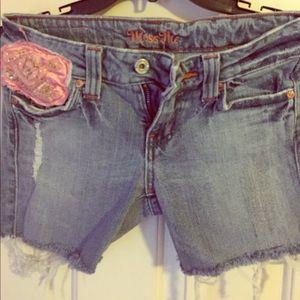 Vintage Miss Me shorts