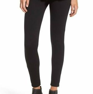 Lush Charcoal Zipper Leggings