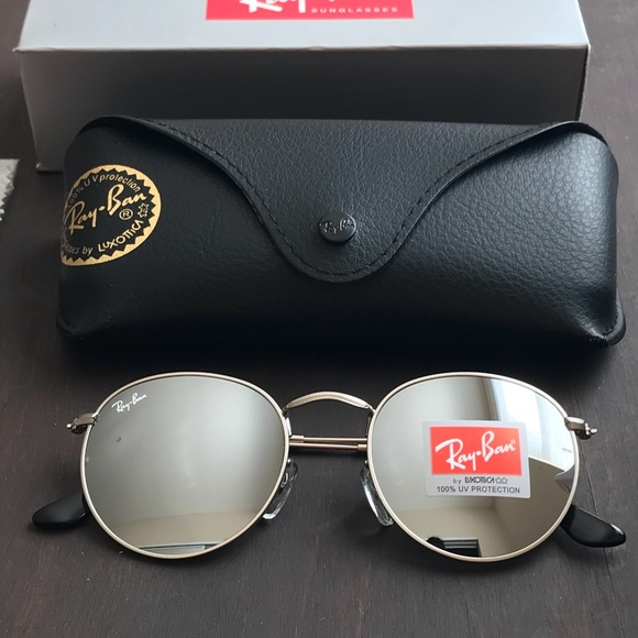 d75d0d6a4d All silver round ray-ban sunglasses size 50