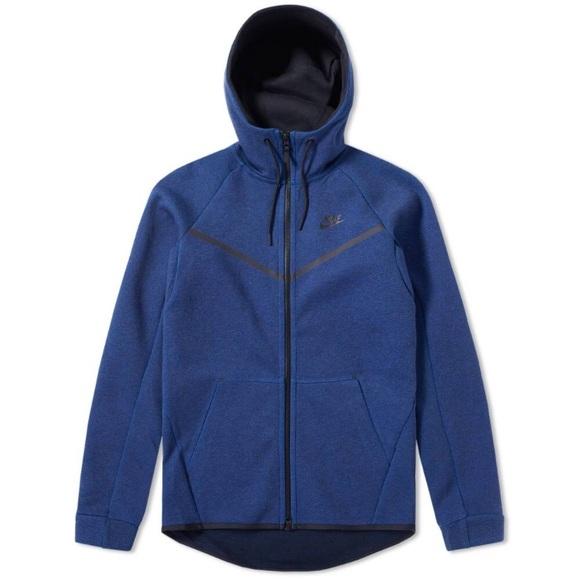 5f38da18d98f Nike Tech Fleece Hoodie Obsidian Heather   Black