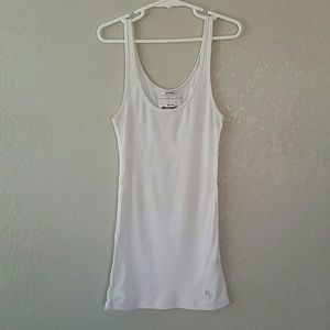 White abercrombie kids tank top