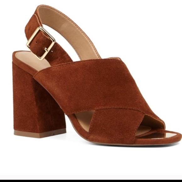 c705f10d1b2f Aldo Shoes - Aldo suede block mule wedge heels